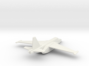 Su-25 Frogfoot 1/285 scale  in White Strong & Flexible