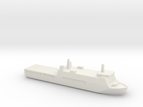 KRI Surabaya, 1/1800 in White Natural Versatile Plastic