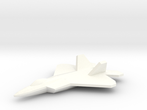 F-22 Raptor 1/350 in White Processed Versatile Plastic
