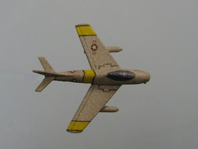 1/285 (6mm) F-86 Sabre  in White Strong & Flexible