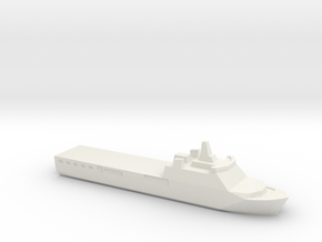 KRI Banjarmasin, 1/1800 in White Natural Versatile Plastic