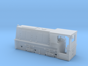Feldbahnlok HF50b Spur H0f (1:87) in Smooth Fine Detail Plastic