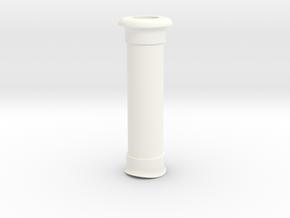 Funnel (40mm Boiler) in White Processed Versatile Plastic