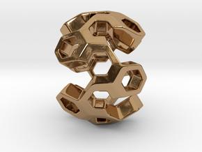 HONEYGENE Pendant in Polished Brass