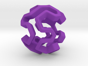 HONEYBOMB Capsule, Pendant. Sweet Explosion. in Purple Processed Versatile Plastic