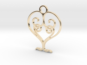 Love Grows Pendant in 14K Yellow Gold