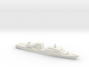 Haijing/CCG-2901 Patrol Ship, 1/2400 in White Natural Versatile Plastic