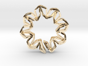 YOUNIC Blossom 350R, Pendant in 14K Yellow Gold