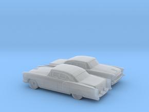 1/160 2X 1955/56 Packard Patrician Sedan in Smooth Fine Detail Plastic