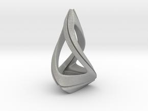 Trianon T.1, Pendant. Stylized Shape in Aluminum