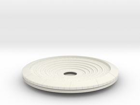Confession Dial (Complete, No Orb or Lid) in White Natural Versatile Plastic