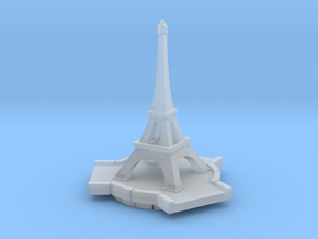 Eiffel Tower in Smooth Fine Detail Plastic
