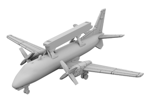 1:700_Saab 340 AEW [x1][A] in Smooth Fine Detail Plastic