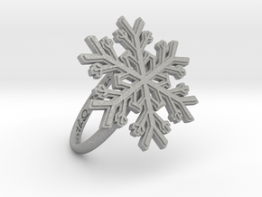 Snowflake Ring 1 d=18.5mm h21d185 in Aluminum