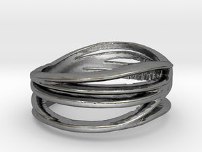 Simple Classy Ring Size 11 in Fine Detail Polished Silver
