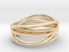 Simple Classy Ring Size 11 in 14K Yellow Gold