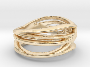 Simple Classy Ring Size 8 in 14K Yellow Gold