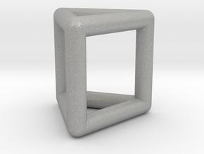 0445 Triangular Prism (a=1сm) #001 in Aluminum