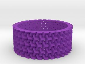 Them's Fightin' Rings - Size 10 in Purple Processed Versatile Plastic