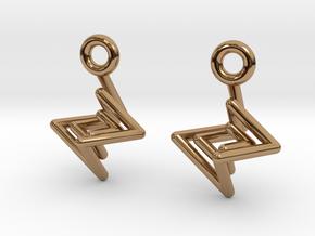 NestedSpirals in Polished Brass