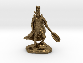 The Dark Lord with His Deadly Mace in Natural Bronze