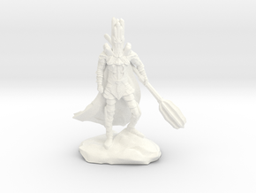The Dark Lord with His Deadly Mace in White Processed Versatile Plastic
