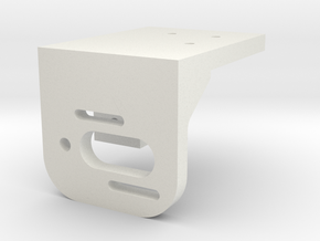Motor Mount in White Natural Versatile Plastic