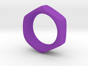 The Reverse Engineer (18mm) in Purple Processed Versatile Plastic