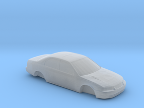 Ho Scale 1997-2001 Toyota Camry (FUD) in Smooth Fine Detail Plastic