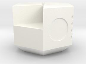 NXS - 5-4 Piece in White Processed Versatile Plastic