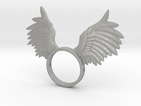 Nipple shield owl wings in Aluminum