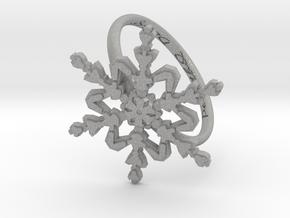 Snowflake Ring 2 d=19.5mm h21d195 in Aluminum