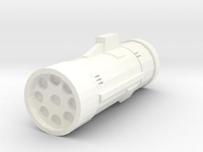 Thunderbolt Lrm in White Processed Versatile Plastic