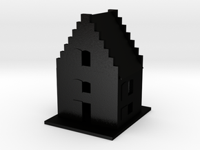 Little Cottage in Matte Black Steel