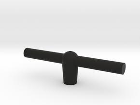CAC Boomerang Drop Tank Handle in Black Natural Versatile Plastic