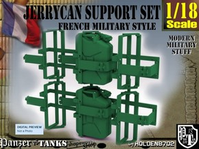 1/18 Support Jerrycan in Green Processed Versatile Plastic