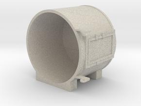 """1"""" Scale Live Steam Sunbeam Headlight in Natural Sandstone"""