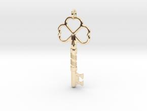 Love Key in 14K Yellow Gold