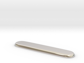 Victorinox replacement scale (for Aluminum Side 2) in Platinum