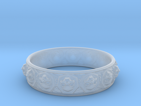 SKULLZ bangle in Smooth Fine Detail Plastic