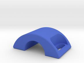 Latch Rev.1 in Blue Processed Versatile Plastic