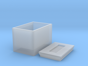Box For Screws in Smooth Fine Detail Plastic
