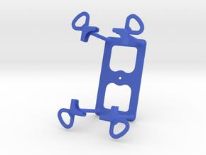 Universal support for smartphones in Blue Processed Versatile Plastic