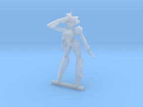 TCID Miniatures 40mm 01 in Smooth Fine Detail Plastic