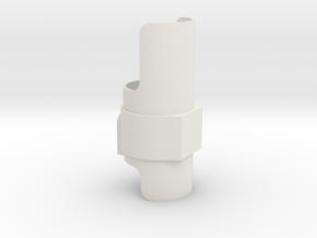 Saber Shroud 1 in White Natural Versatile Plastic