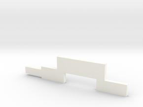 HobbyLock 786 Service Adjustment Tool in White Processed Versatile Plastic