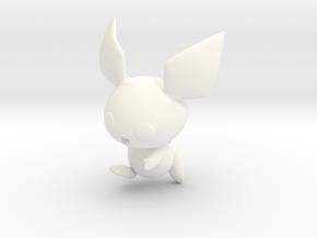 Pichu Amiibo in White Processed Versatile Plastic