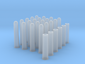 1:6 20 Rds  50-90 Sharps 6 Casings in Smooth Fine Detail Plastic