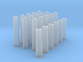 1:6 15 Rds 50-90 Sharps 6 Casings in Frosted Ultra Detail