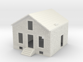 NVPP01 - Suburban house in White Natural Versatile Plastic